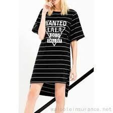 black high low stripe shift dress 27 88 cheap deals abroad