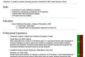 Kindergarten Teacher Resume Example by Resume For Kindergarten Teacher Job Resume Pre Kindergarten