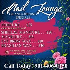 nail lounge nail salons 376 perkins extd brennan memphis tn