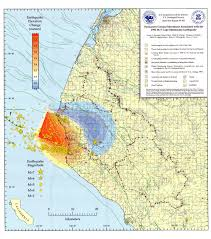 Humboldt State University Map by Earthquake Report 1992 04 25 M 7 1 Petrolia Jay Patton Online