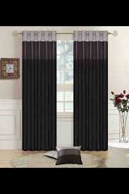 Black Living Room Curtains Ideas Living Room Curtains Idea Black Grey Silver For The Home