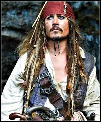 sparrow hair men s pirate costumes deluxe theatrical quality costumes