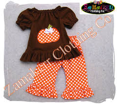 Thanksgiving Dress Baby Custom Boutique Clothing Pumpkin Dress Fall Thanksgiving Turkey