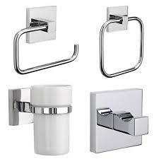 chrome bathroom accessories ebay