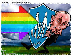 Straight Pride Flag Fernando Llera Blog Cartoons Vladimir Putin U0027s United Russia Party