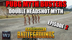 pubg quieter without shoes pubg myth busters 2 shoes or barefoot speed double awm headshot