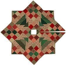 christmas skirt christmas patch tree skirt quilt pattern cmq 109 christmas