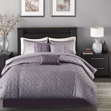 Purple And Zebra Room by Amazon Com Madison Park Mp10 919 Biloxi 7 Piece Comforter Set