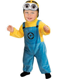 Halloween Costumes Baby Dave Minion Costume Despicable 2 Costumes Halloween