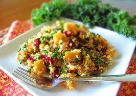 quinoa thanksgiving recipes kale butternut squash u0026 dried cranberry quinoa repurposed life