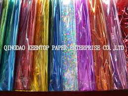 foil gift wrap opp holographic metallic foil for gift wrapping buy holographic