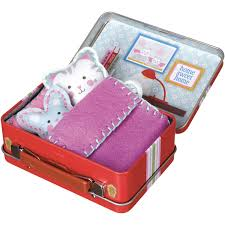 Make Your Own Toy Chest by My Studio Make Your Own Travel Buddies Cat Walmart Com
