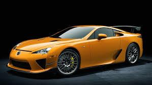 lexus performance cars the us 465 000 lexus lfa nurburgring the most expensive japanese