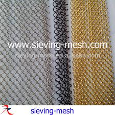 Fireplace Chain Screens - decorative fireplace curtains metal chain link mesh curtains