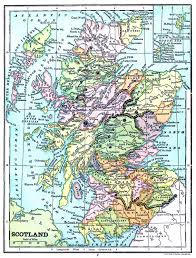 printable road maps fresh printable map of scotland instant art th 14688 unknown