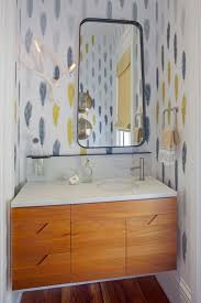 Wallpaper Designs For Bathrooms by 137 Best Powder Rooms Images On Pinterest Bathroom Ideas Powder