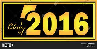 class of 2016 graduation graduation class 2016 logo vector photo bigstock
