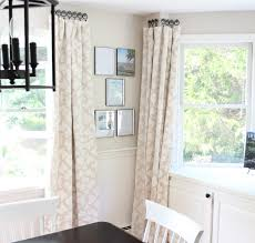 bay window kitchen curtains idolza