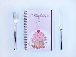 tagebuch selbst designen diätplaner selbst gestalten mein notizbuch