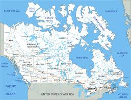 Alaska Road Map by Map Of Canada Guide Of The World