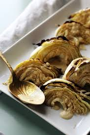 cuisine discount dijon roasted cabbage with dijon garlic sauce the pastiche