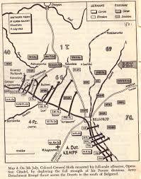 Battle Of Kursk Map The Battle Of Kursk