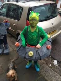 Megamind Halloween Costumes Book Costume Aliens Love Underpants Papier Mache