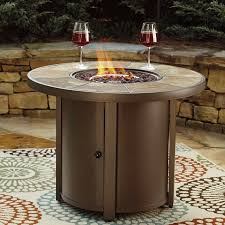 Propane Firepit Darby Home Co Thelma Aluminum Propane Pit Table Reviews