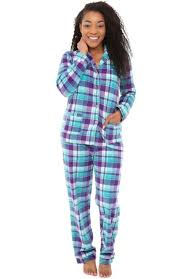 rossa womens fleece pajamas button pj set
