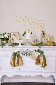 anniversary party ideas 1st anniversary party ideas in gold white celebrations at home