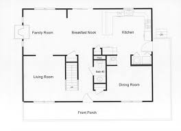 open floor plan blueprints 4 bedroom floor plans monmouth county county new jersey