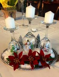 Wine Glass Decorating Ideas Top 50 Christmas Table Decorations 2017 On Pinterest Christmas