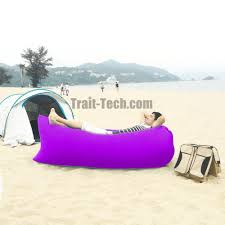 popular lazy hangout inflatable air sleeping bag sofa couch bed