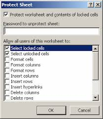 ms excel 2007 hide formulas from appearing in the edit bar