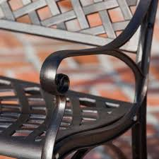 Patio Chair Material Metal Patio Furniture Sets U0026 Pieces The Home Depot