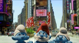 the smurfs reel times reflections on cinema the smurfs
