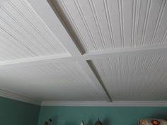 Outdoor Beadboard Ceiling Panels - installing a beadboard ceiling cover the ugly popcorn or textured