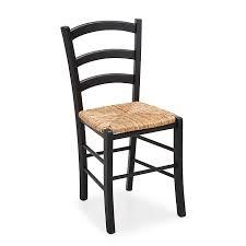 assise de chaise en paille chaise avec assise paille yvonne meubles salle à manger