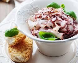 poulpe cuisine salade de poulpe facile cuisine az