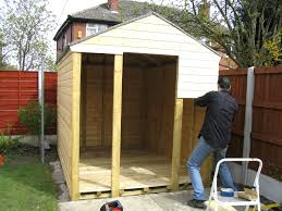 How To Build A Storage Shed Diy by How To Build Outdoor Shed Home Design