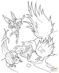 coloring marvelous printable tinkerbell coloring pages free