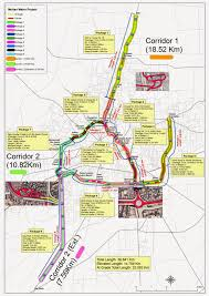 Metro Bus Map by Multan Metro Bus System Mbs Infrastructure Complete Page