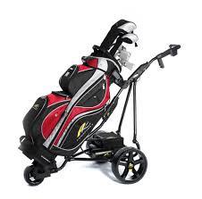 powakaddy freeway titanium compact electric golf caddy golf