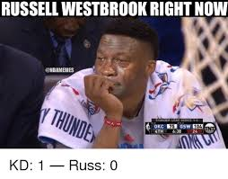 Russell Meme - russell westbrook right now ythunden thunder lead series 1 0 sw 104
