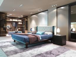 appealing modern contemporary bedroom decor with white wing back