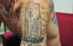 machine gun kelly u0027s tattoo tales rapper shares 10 stories behind