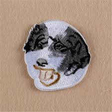 australian shepherd embroidery designs online get cheap iron dogs aliexpress com alibaba group