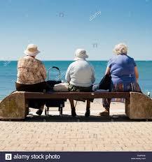 Bench Ladies Three Old Ladies On Bench Stock Photos U0026 Three Old Ladies On Bench