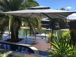 Patio Umbrella With Lights by Outdoor Deck Umbrella Makes The Best Beauty U2013 Carehomedecor