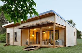 cottage prefabbricati chalet en bois habitable 50 m2 maison eco bois